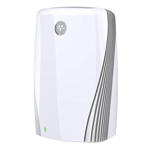 Vornado PCO575DC Air Purifier with True HEPA and Carbon Filtration to Capture Allergens, Smoke, Odors, and Patented Silverscreen Technology Attacks Viruses, Whole Room, White