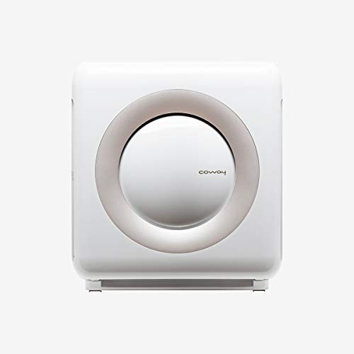 Coway AP-1512HH White HEPA Air Purifier, 16.8 x 18.3 x 9.6